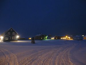 Ny Ålesund town center