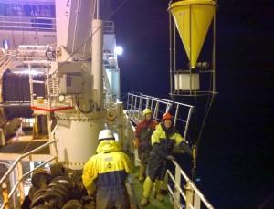 Fig 2: Mooring launch (Picture: Ronald Berntsen)